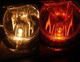 LED JAUNE/ORANGE 5xSMD W5W _