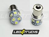 XENON BLANC -  9xSMD LED 10-30V - BA15s_