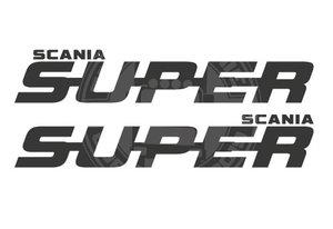 SUPER SCANIA AUTOCOLLANT DE FENÊTRE
