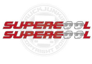SUPERCOOL - AUTOCOLLANT BICOLORE