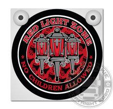RED LIGHT ZONE - ENSEIGNE LUMINEUSES