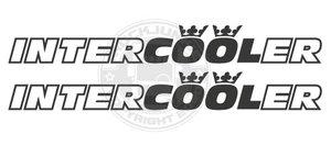 INTERCOOLER CROWNS - AUTOCOLLANT