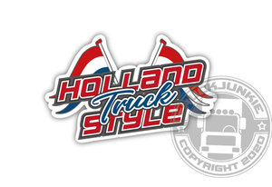 HOLLAND TRUCK STYLE - FULL PRINT STICKER