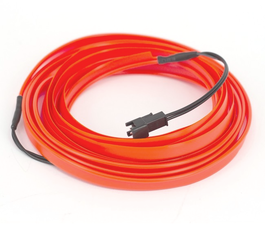 GLOWSTRIP - ROUGE  12-24V
