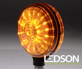 LAMPE ESPAGNOLE LED - ORANGE/ORANGE