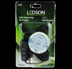 LEDSON - POPPY LED - RGB - USB - 12-24V
