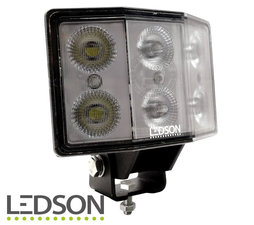 LEDSON - Hydra LAMPE DE TRAVAIL ANGULAIRE 60W - LENTILLE DIFFUSEE