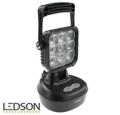 LEDSON - LAMPE DE TRAVAIL PORTABLE AVEC FONCTION FLASH 18W (rechargeable)