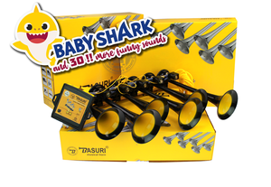 BASURI® MUSICAL AIRHORN - BABY SHARK + 30 SONGS