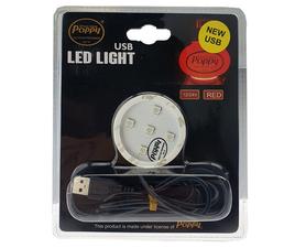 POPPY LED - ROUGE - 12/24V - USB