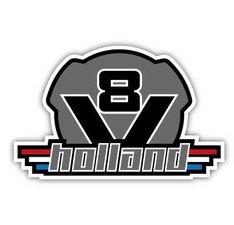 V8 HOLLAND - FULL PRINT AUTOCOLLANT