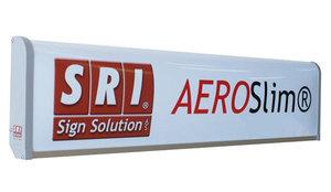AEROSLIM  LIGHTBOX SPOILER SHAPE - 8 CM DEEP