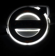 FH / FM 3 ÉCLAIRAGE À EMBLÉMA LED VOLVO TO 2013