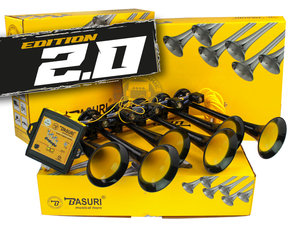 BASURI ® *EDITION 2.0 *  BABY SHARK AIRHORN - 19 MÉLODIES
