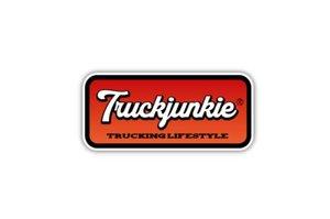 TRUCKJUNKIE - TL ORANGE - FULL PRINT AUTOCOLLANT