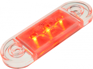 SIDE MARKER LAMP DUN - ROUGE
