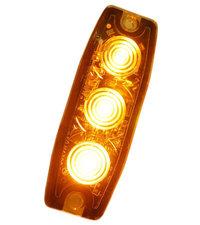 ULTRA THIN FLASH - 3 LED - ORANGE