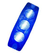 ULTRA THIN FLASH - 3 LED - BLEU