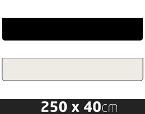 PARE-BOUE - SANS IMPRIMANTE - 250 X 40CM