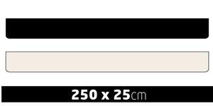 BAVETTE SANS PRINT - 250X25CM