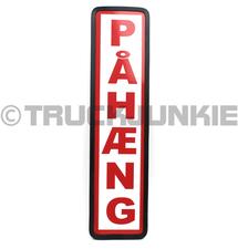 PAHAENG BOUCLIER ROUGE - 40X10CM