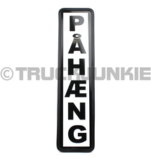 PAHAENG BOUCLIER NOIR - 40X10CM