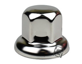 STAINLESS STEEL WHEEL NUT COVER 32MM - SUITABLE FOR LARGE WASHERS