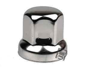 STAINLESS STEEL WHEEL NUT COVER 32MM