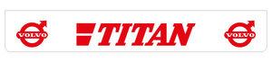 TITAN 250X40 BAVETTE - ROUGE!!