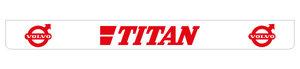 TITAN 250X25 BAVETTE - ROUGE!!