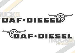 DAF DIESEL - AUTOCOLLANT