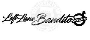 VO - LEFT LANE BANDITO - AUTOCOLLANT