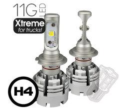 LAMPES DE PHARES LEDSON - 11G Xtreme POUR CAMIONS - H4