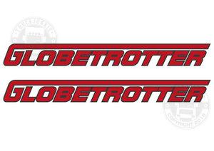 GLOBETROTTER - DEUX TONS AUTOCOLLANT