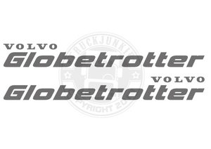 VO GLOBETROTTER  - AUTOCOLLANT
