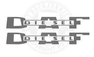 DAF DIESEL OLD - AUTOCOLLANT