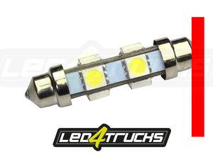ROUGE - 6xSMD LED 24-28V - FESTOON