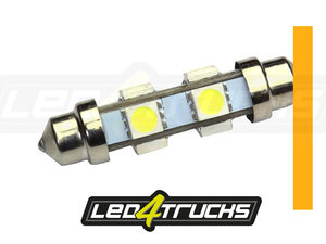 ORANGE - 6xSMD LED 24-28V - FESTOON