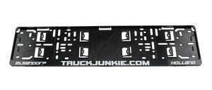 TRUCKJUNKIE.COM - SUPPORT DE PLAQUE DIMMATRICULATION