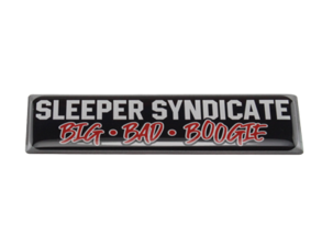 SLEEPER SYNDICATE BBB - 3D DELUXE FULL PRINT AUTOCOLLANT