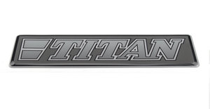 TITAN GRIS - 3D DELUXE FULL PRINT AUTOCOLLANT