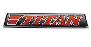 TITAN ROUGE - 3D DELUXE FULL PRINT AUTOCOLLANT