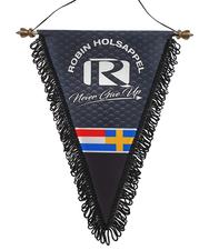 ROBIN HOLSAPPEL - NEVER GIVE UP - FANION
