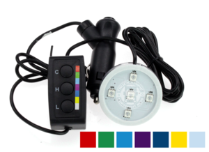 POPPY LED - 5 LED - RGB - 12/24V