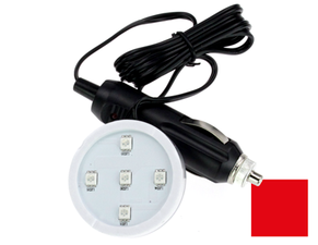 POPPY LED - 5 LED - ROUGE - 12/24V