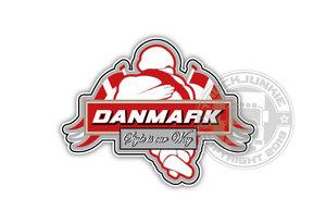 DANMARK - STYE IS OUR WAY - FULL PRINT AUTOCOLLANT