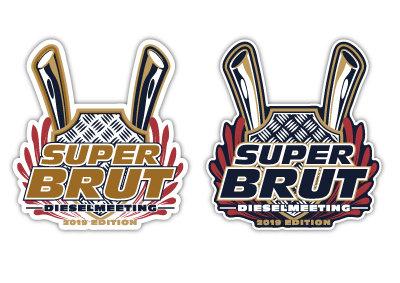 SUPER BRUT 2019 - FULL PRINT STICKER