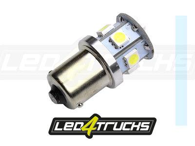 XENON BLANC -  9xSMD LED 10-30V - BA15s
