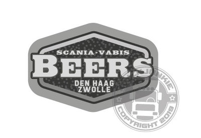 BEERS DEN HAAG-ZWOLLE - FULL PRINT AUTOCOLLANT