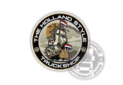 THE HOLLAND STYLE TRUCKSHOP - FULL PRINT AUTOCOLLANT